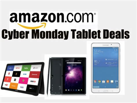 what are the best amazon cyber monday tablet deals