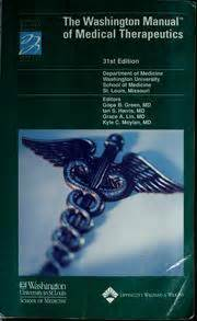 the washington manual of critical care books the washington manual of therapeutics 2004