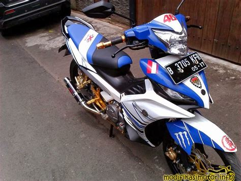 Mx 135 Modifikasi by 20 Gambar Foto Modifikasi Motor Yamaha Jupiter Mx New