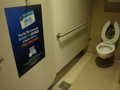 restroom advertising 3d media promotions directory