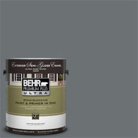 behr premium plus ultra 1 gal ul260 21 antique tin semi gloss enamel exterior paint 585301