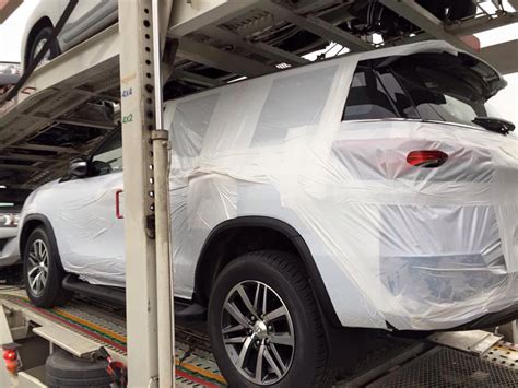toyota fortuner suv spotted  thailand