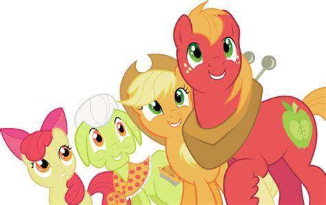 apple family the apple family my little pony friendship is magic fan