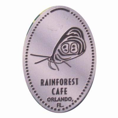 rainforest cafe light up cup your wdw store disney pressed quarter rainforest cafe
