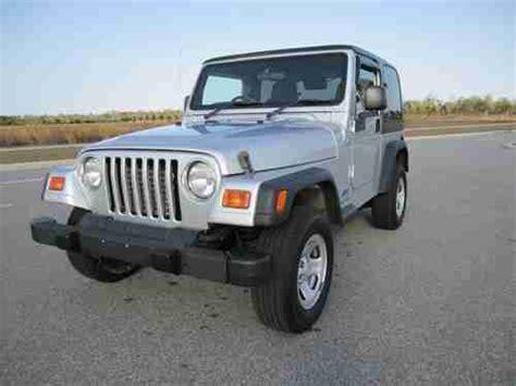 Jeep Wrangler Rhd Sell Used 2005 Jeep Wrangler Sport Utility 4wd 2 Door 4 0l
