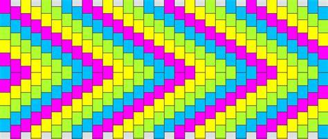 zigzag kandi cuff pattern kandi patterns for kandi cuffs simple pony bead patterns