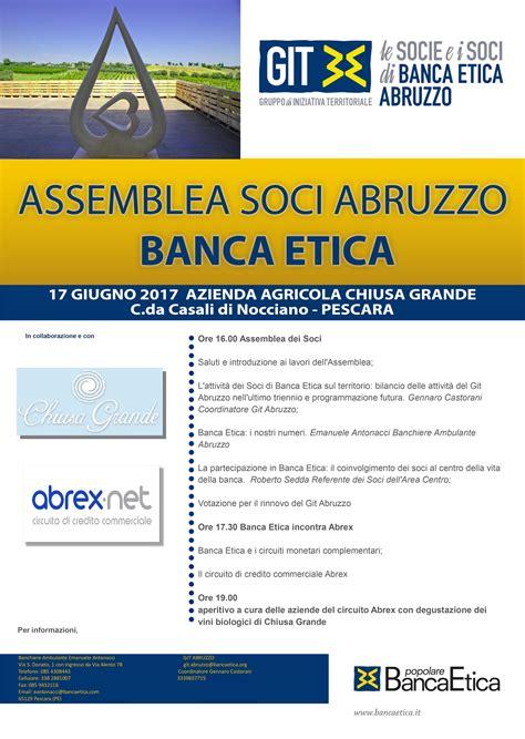 Banca Etica Pescara il gruppo di soci di banca etica di abruzzo
