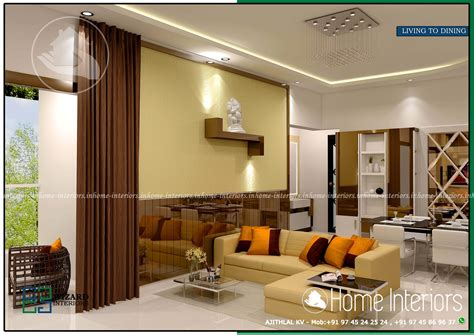 home interiors kerala living room contemporary home interior design