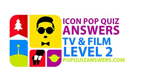 film quiz youtube icon pop quiz answers tv film level 2 for iphone ipad