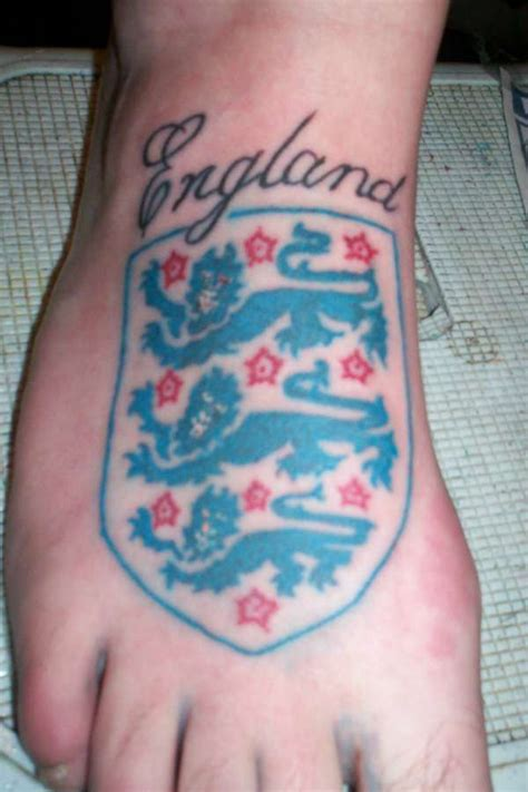 england three lions tattoo designs 3 lions foot
