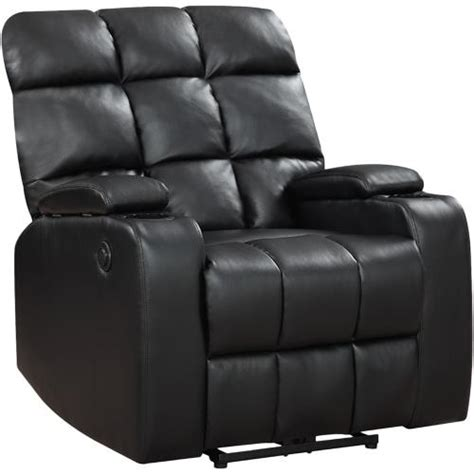 home theater power recliner global furniture 97570 liberty home theatre power black