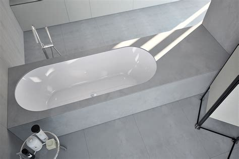 makro vasche vasca sottopiano con bacino ovale da rivestire eclettico