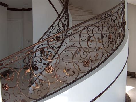 Handrails And Banisters For Stairs Pro Fusion Ornamental Iron Inc