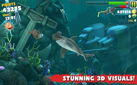 mod game hungry shark hungry shark evolution v5 4 0 android apk hack mod download