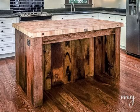 kitchen island made from reclaimed wood furniture made using wooden pallets pallet idea