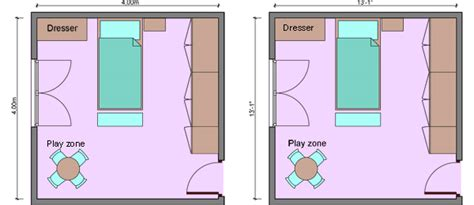 bedroom measurements kid s bedroom layouts with one bed