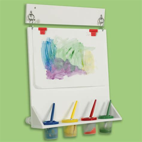 Florplanner space saver wall mounted paint easel