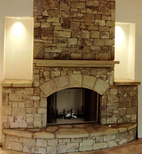 feuerstelle naturstein fireplace pictures and ideas