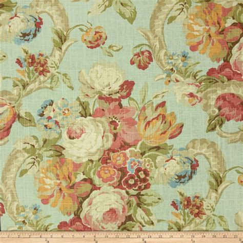 floral upholstery waverly floral botanical fabric discount designer
