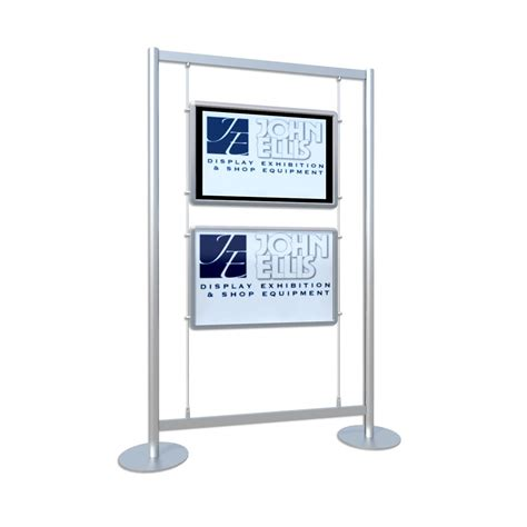 window light box freestanding digital screen cold cathode lightbox