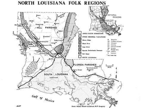 louisiana festival map outline of louisiana folklife guide to the state
