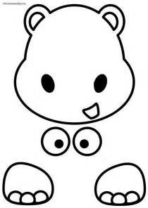 hippo pictures for kids az coloring pages