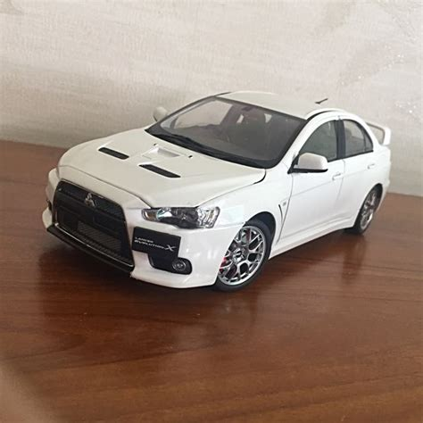 Mitsubishi Lancer Evo 10 Bbs Car Model In Scale 1 18 Black 1 18 csm mitsubishi evo x rhd bbs wheels toys others on carousell