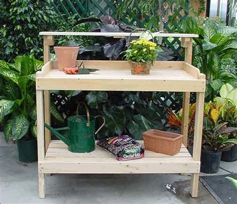 white potting bench white cedar potting bench contemporary potting benches