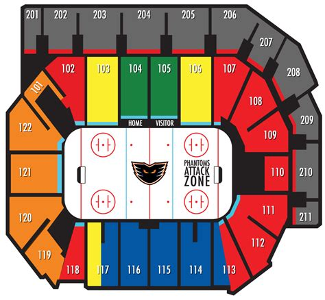Floor Plan Layout App by Seating Chart Lehigh Valley Phantoms