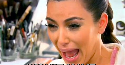 Kim Kardashian Crying Meme - kim kardashian s crying face celebrity memes the