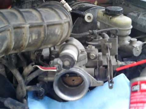 ford ranger cleaning  throttle body part