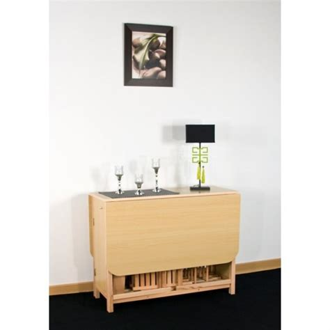photo table console avec chaise integree