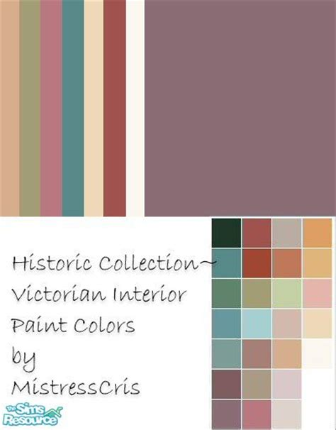 mistresscris historic collection interior paint colors