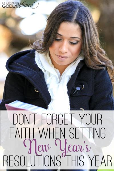 new this year don t forget your faith when setting new year s resolutions