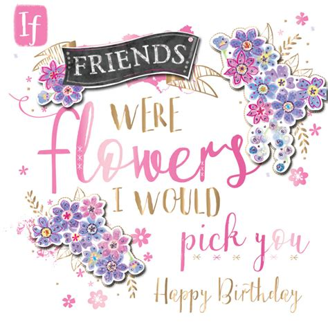 Handmade Greeting Cards For Friends Birthday - happy birthday friend handmade embellished greeting card