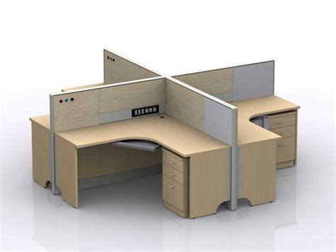 Featherlite Workstation Cubicles For Cost Efficient Office Office Cubicle Desks
