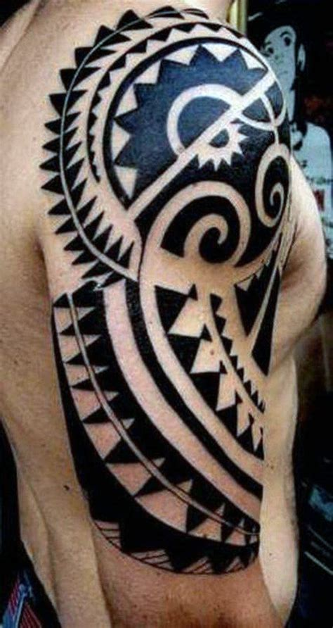 mens tribal arm tattoo top 60 best tribal tattoos for symbols of courage