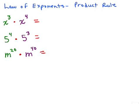 Product Rule Exponents Worksheet by Exponent Product And Quotient Rule Worksheet Algebra