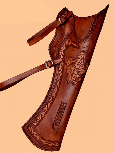 Handmade Leather Quivers - 1000 ideas about leather quiver on quiver