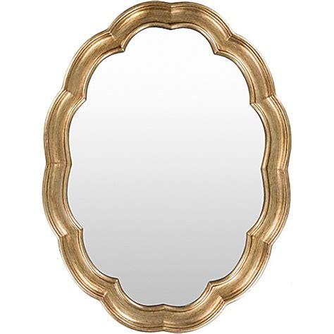 30 by 40 inch mirrors buy surya garnis 30 inch x 40 inch wall mirror in gold