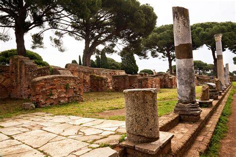 porto di ostia antica ostia antica gli scavi archeologici port mobility