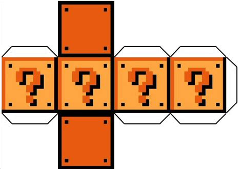 printable mario question mark question mark block template by cypher7523 on deviantart