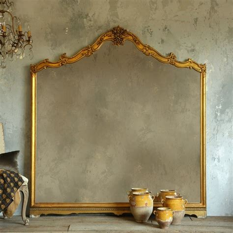 eloquence collection vintage floor mirror in gold gilt