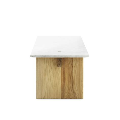 solid marble coffee solid normann copenhagen coffee table in wood with marble