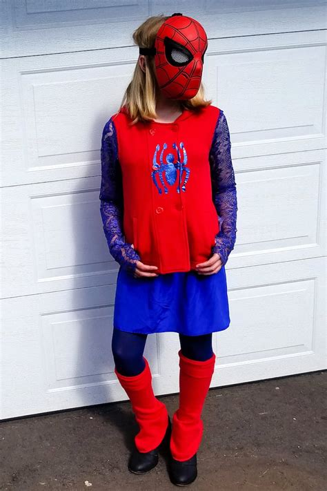 how to make a costume diy how to make a spider costume for