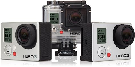 Gopro Gopro 3 Silver New gopro announces the new hero3 accessories explora