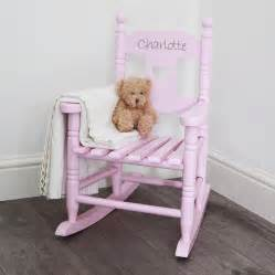 Personalised child s rocking chair by my 1st years notonthehighstreet com