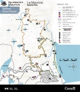 parc national mauricie advanced level hike deux