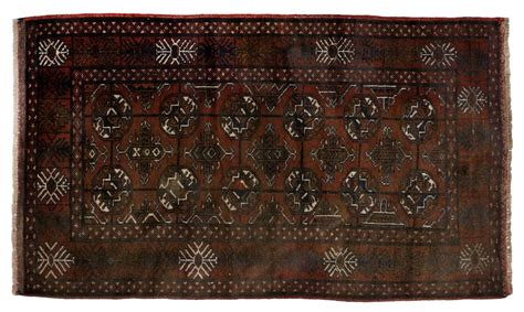 balouch rug semi antique afghan balouch wool rug spectacular carved furniture and estates