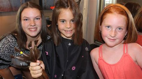 cheap haircuts durham region new lowell girls donate hair to support barrie tot